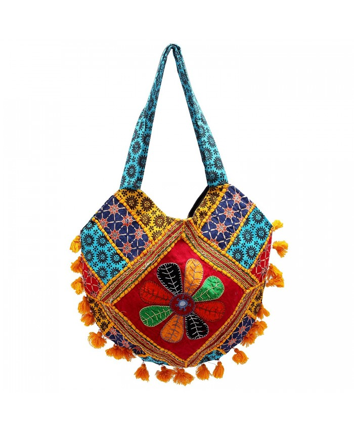 Ethnic Handicraft Women's Captivating Multicolor Shoulder Bag